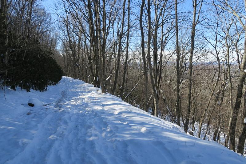 Whiteside Mountain Loop Trail -- 4,750'