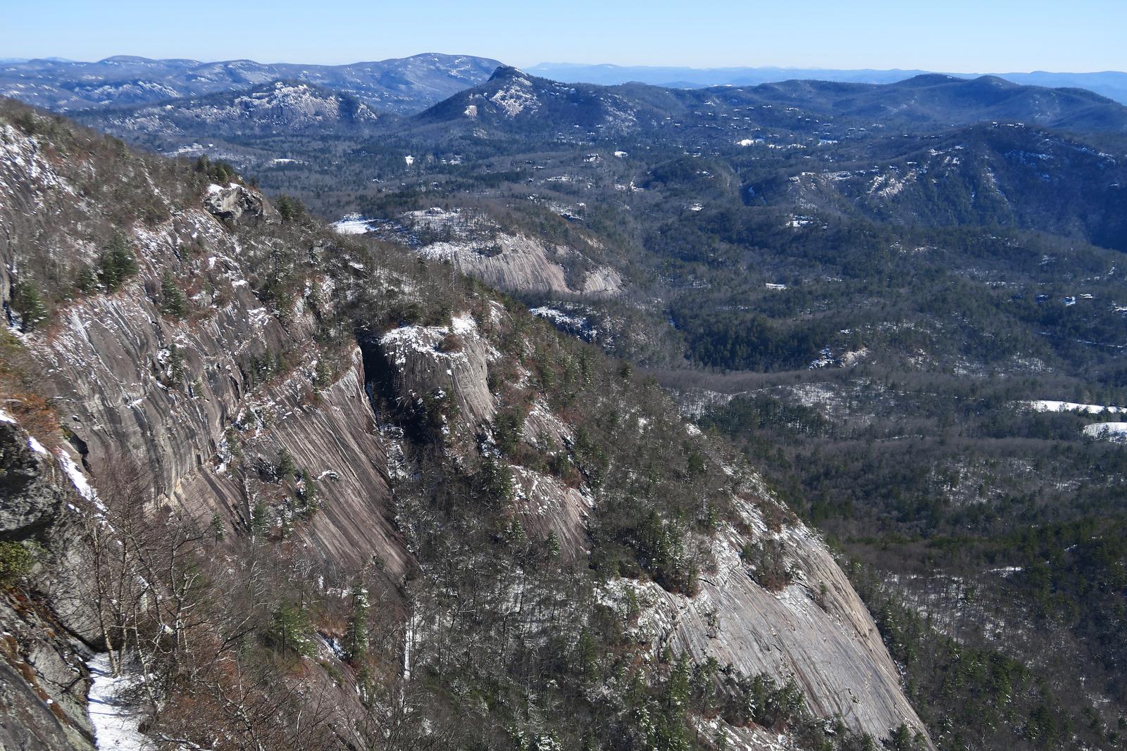 Whiteside Mountain Summit -- 4,931'