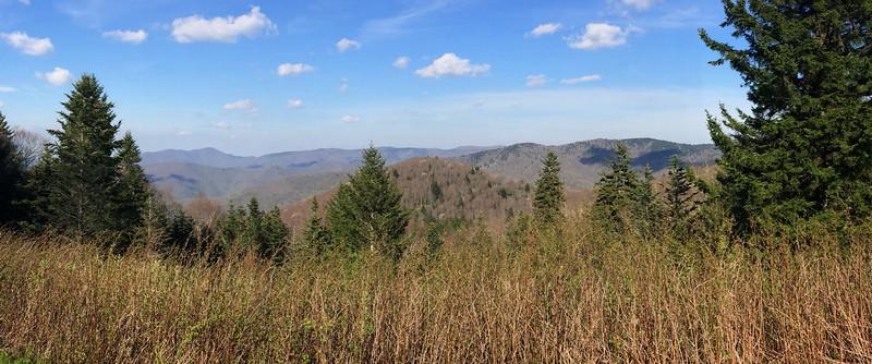 Beartrap Gap Overlook - 5,580'