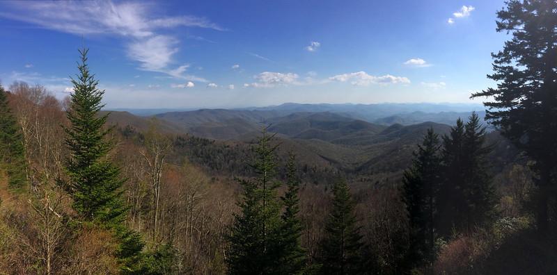 Wolf Mountain Overlook - 5,500'