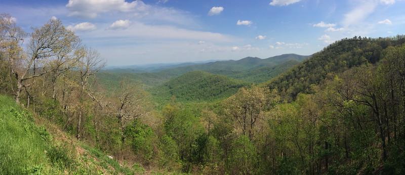 Big Ridge Overlook - 3,820'