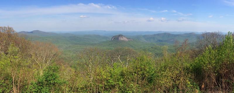 Looking Glass Rock Overlook - 4,492'