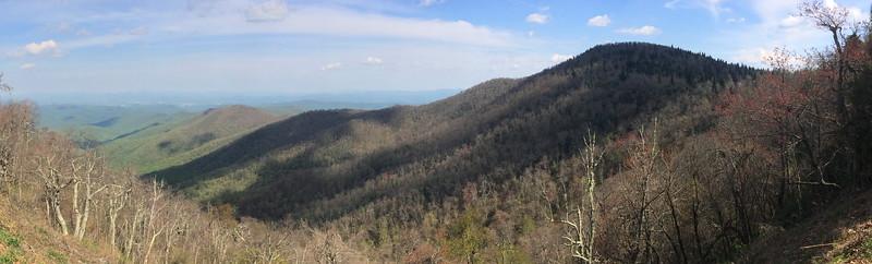 Buck Spring Gap Overlook - 4,980'