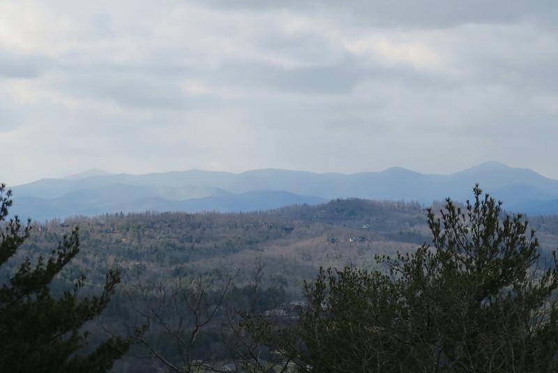 Big Glassy Mountain - 2,783'