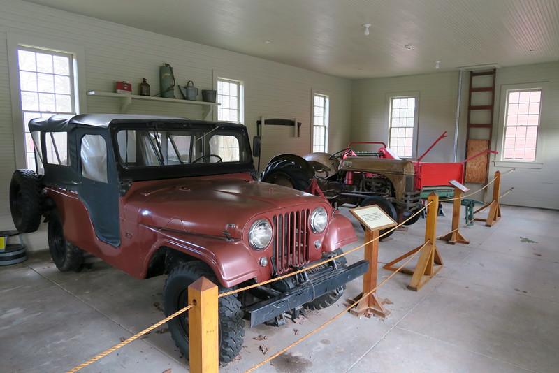 Barn Garage (interior)