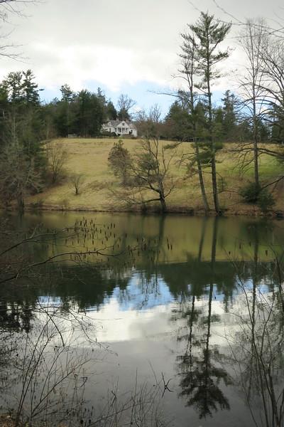 Front Lake & Main House