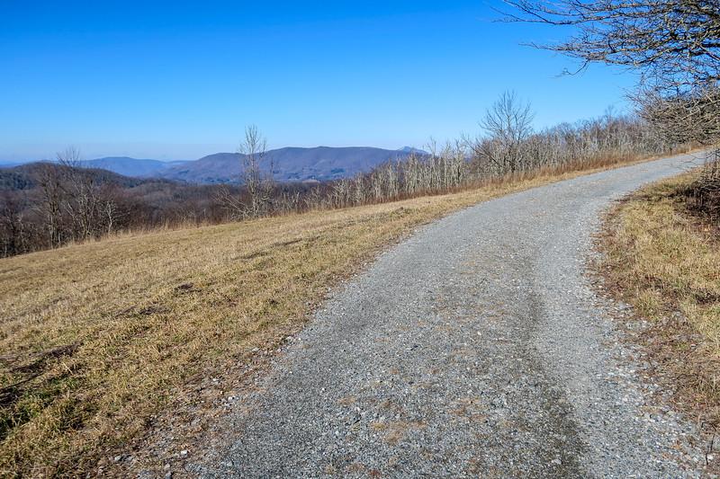 Flat Top Road -- 4,180'