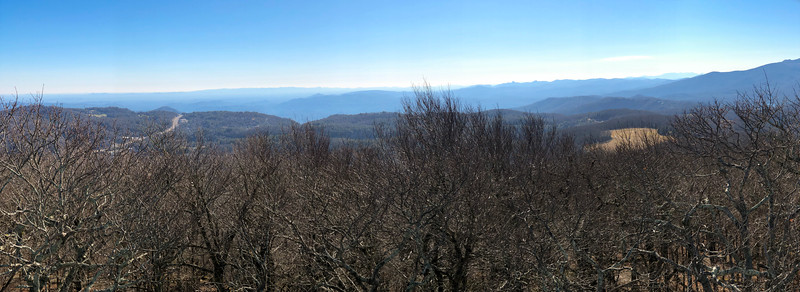 Flat Top Mountain Lookout -- 4,558'