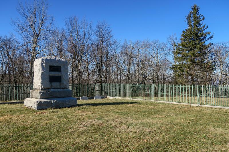Cone Cemetery -- 4,180'