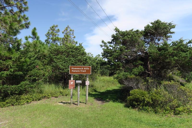 Ocracoke Campground-Hammock Hills Trailhead
