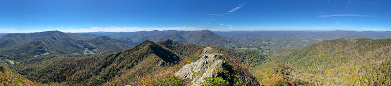 Big Rock (Three Top Mountain) -- 5,044'