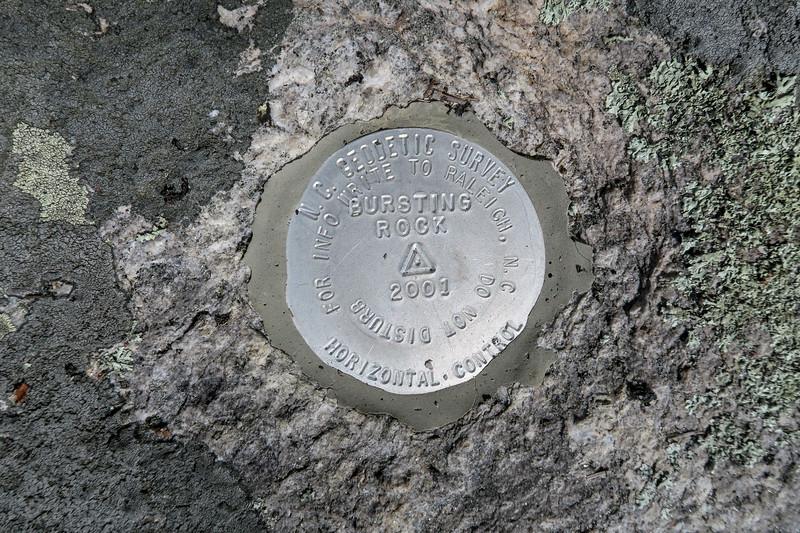 Bursted Rock -- 3,150'