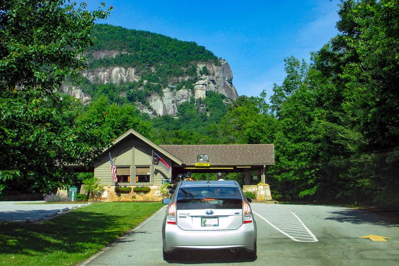Chimney Rock State Park Entrance