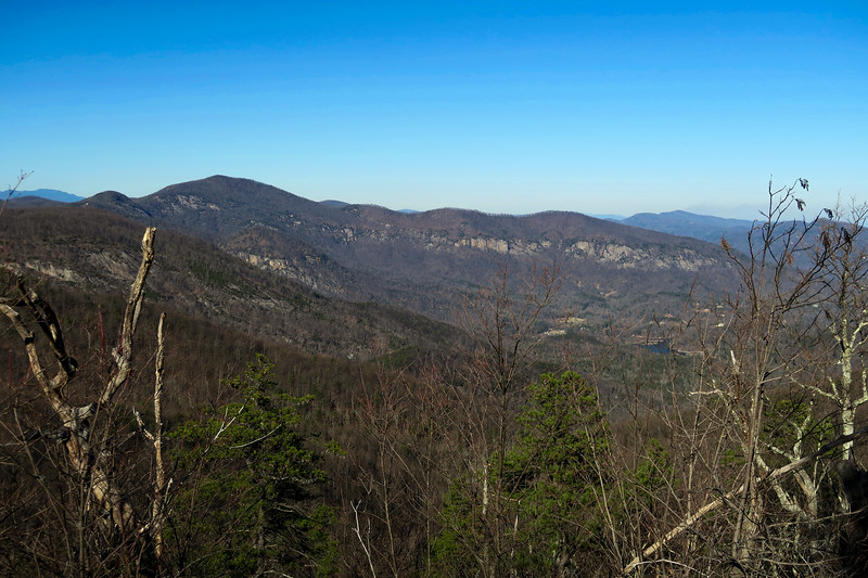 Hickory Nut Gorge from World's Edge
