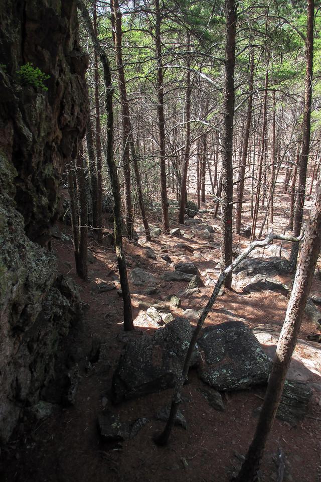 Rocktop Trail - 1,060'