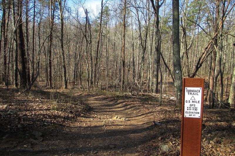 Turnback Trail - 897'