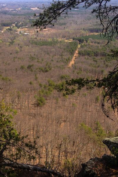 Crowder's Mountain Cliffs - 1,450'