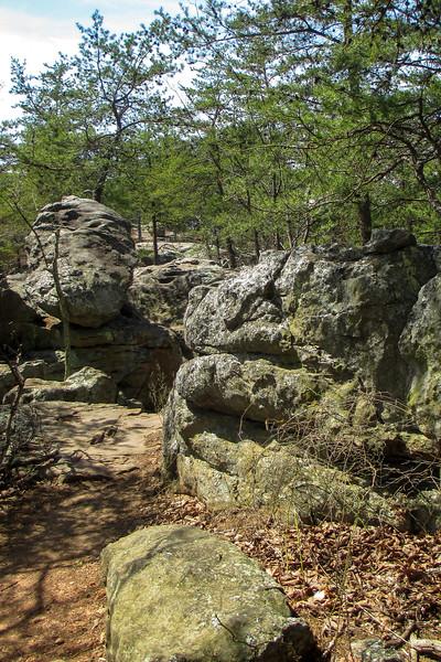 Rocktop Trail - 1,360'