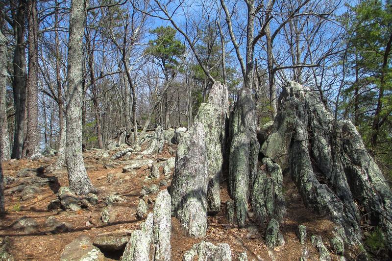 Rocktop Trail - 1,380'