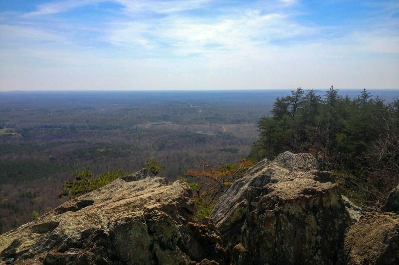 Crowder's Mountain Cliffs - 1,550'