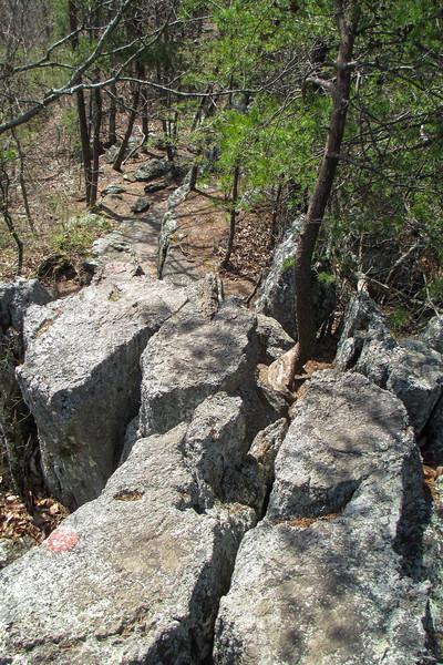 Rocktop Trail - 1,330'