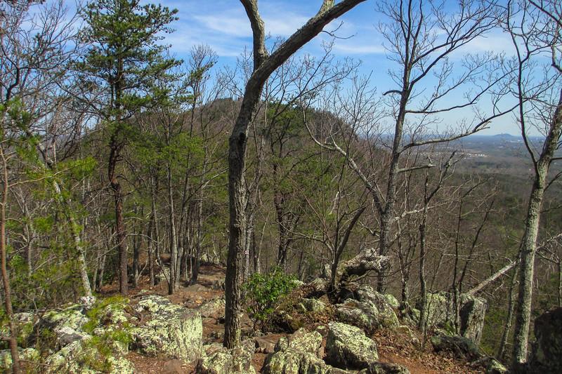 Rocktop Trail - 1,340'