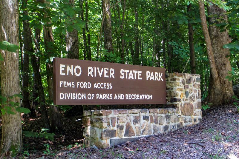 Eno River State Park - Fews Ford Entrance