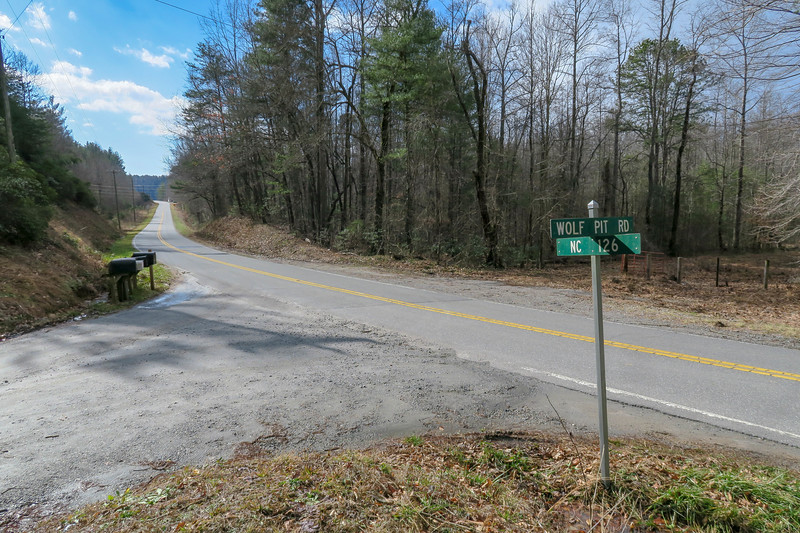 NC-126 / Wolfpit Road Intersection