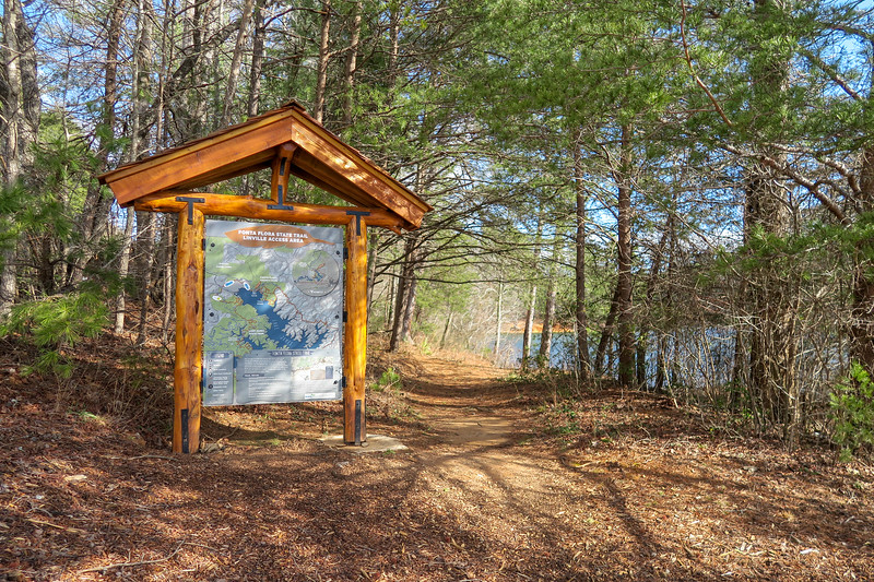 Linville Access Area-Fonta Flora Trailhead
