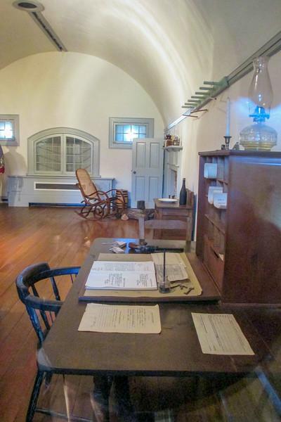 Commandant's Quarters at Fort Macon
