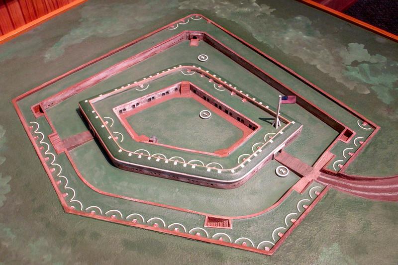 Fort Macon Model