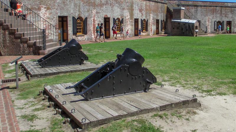 Model 1861 10-inch Siege Mortars