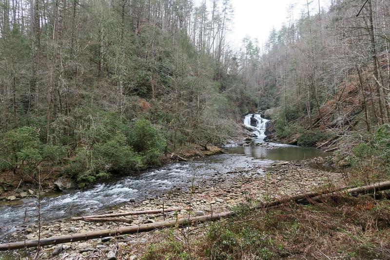 Chub Line Falls -- 1,360'
