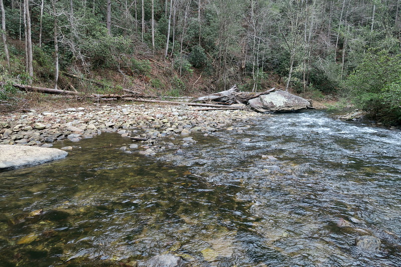 Toxaway River -- 1,350'
