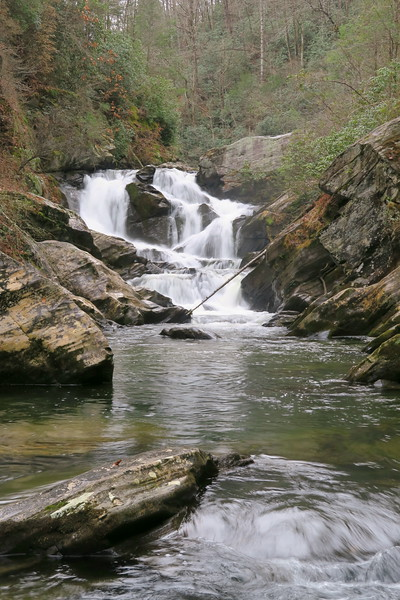 Chub Line Falls -- 1,350'