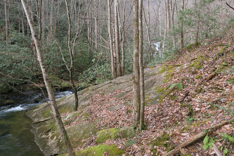Wintergreen Falls Path -- 1,750'