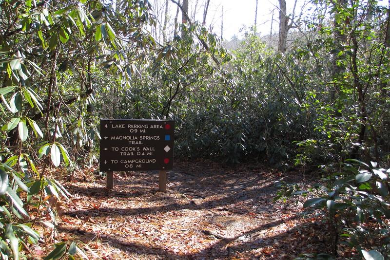 Magnolia Springs Trail - 1,740'