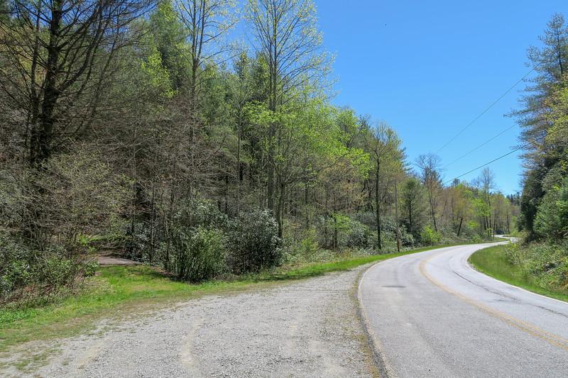 White Oak Bridge Trailhead (Glady Fork Road) -- 2,700'
