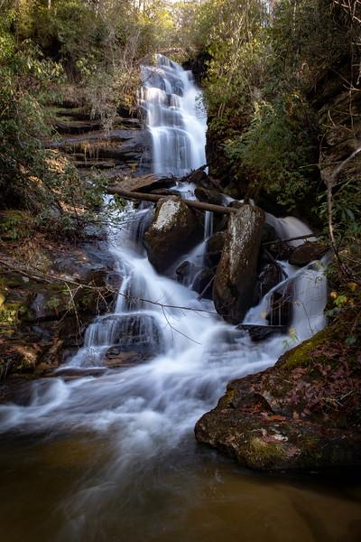 Reece Place Falls -- 2,600'