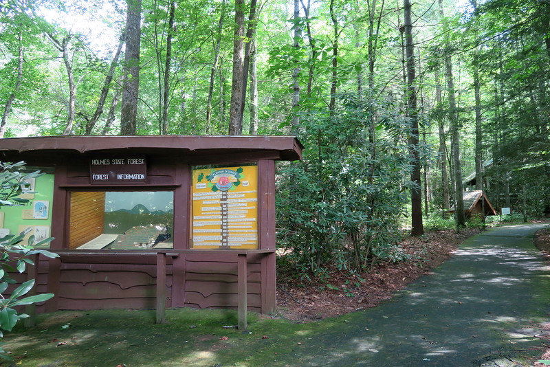 Holmes State Forest Informational Kiosk