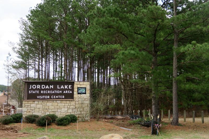 Jordan Lake State Recreation Area -- U.S. 64 Entrance