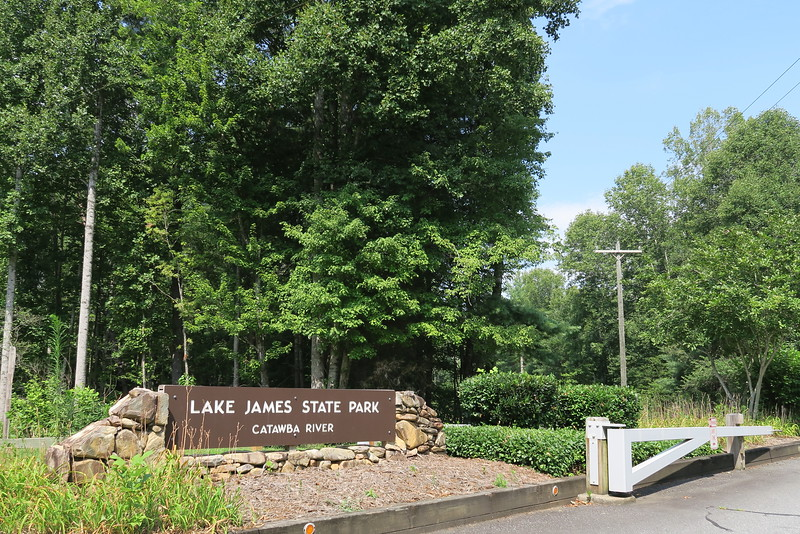 Lake James State Park - Catawba River Entrance