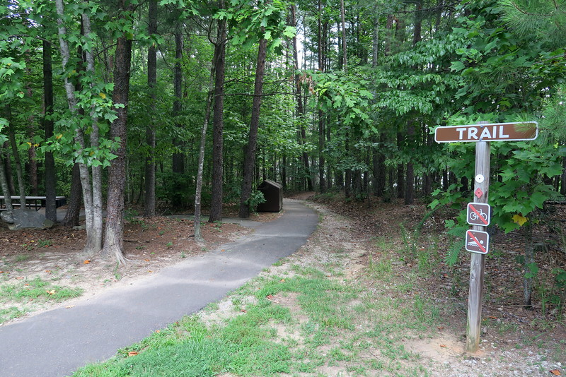 Catawba River Area Trailhead