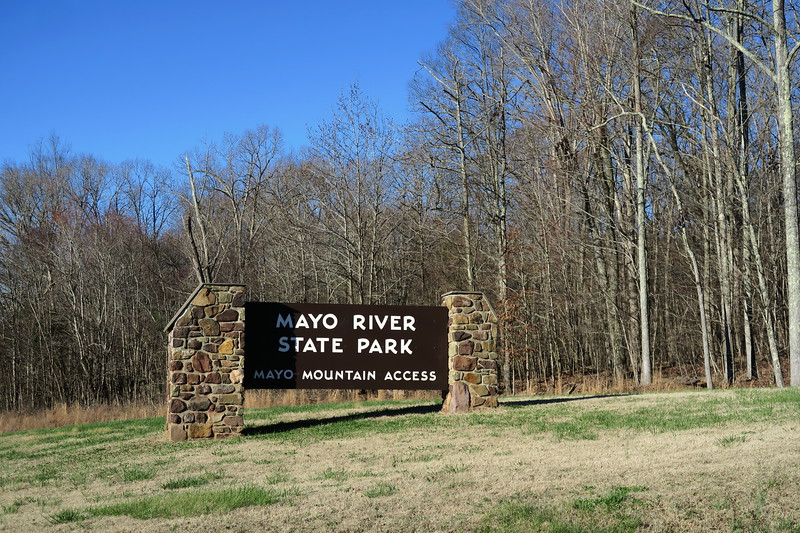Mayo River State Park Entrance