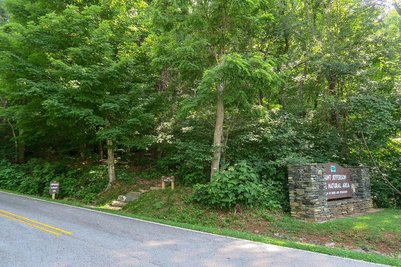 Mountain Ridge Trailhead -- 3,700'