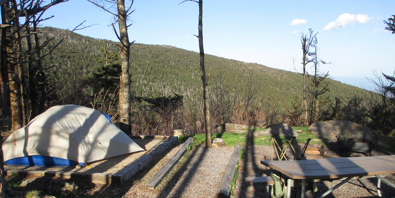 Mount Mitchell Campground - 6,300'