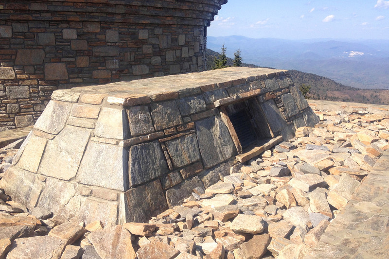Mount Mitchell Summit - Elisha Mitchell Grave - 6,684'