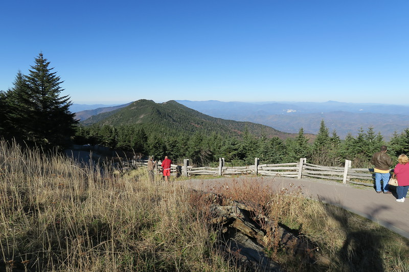Mount Mitchell Summit Trail -- 6,660'