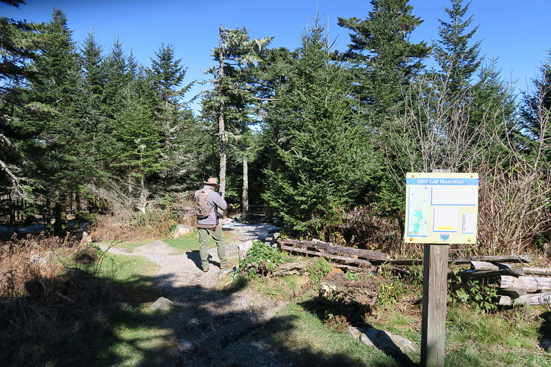 Deep Gap Trailhead -- 6,600'