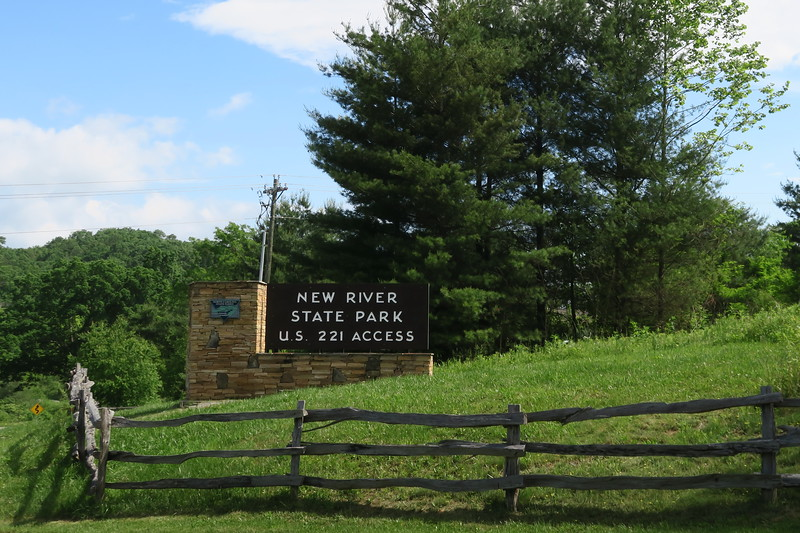 New River State Park US-221 Access Entrance